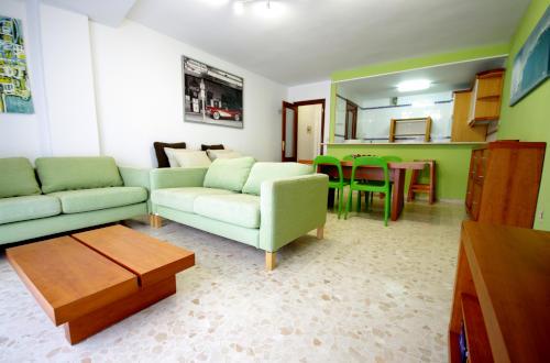 Salón de apartamento en Tarifa cerca del centro