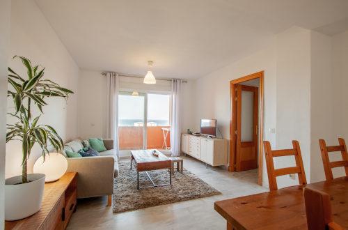 Salón completo del apartamento