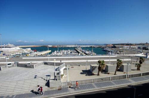 Vistas del alojamiento al puerto