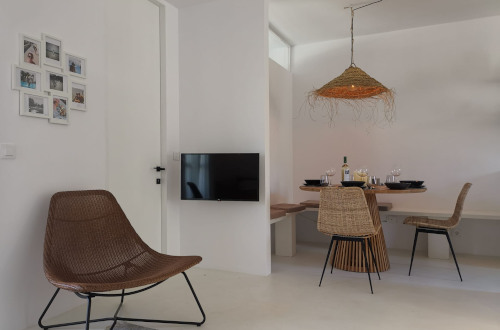 Zona de estar del apartamento